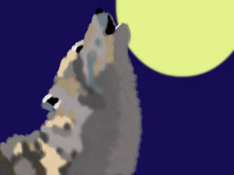 Howling Wolf by Bluegrove6