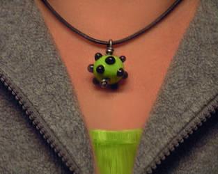 Green dottis to wear by nenne