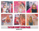 Icon Pack #1: Taylor Swift by maihatuyet by maihatuyet