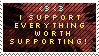 Everything Worth Supporting by stamp-album