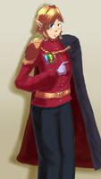 [AT] Link, Rex Hylianorum (Queen-Zelda) by S3rb4n
