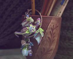 Hydrangea dragon by LuckyTraveller