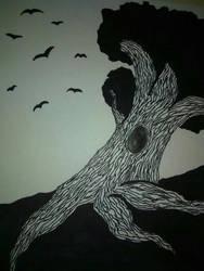 A Tree by Skadadle