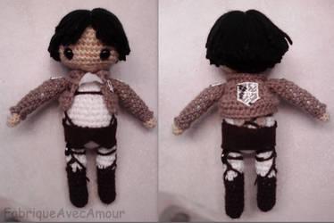 SNK Levi Doll by LucarioFan1996