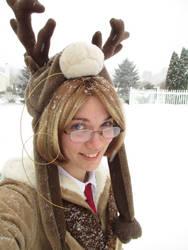 Moose like Snow, too by LucarioFan1996