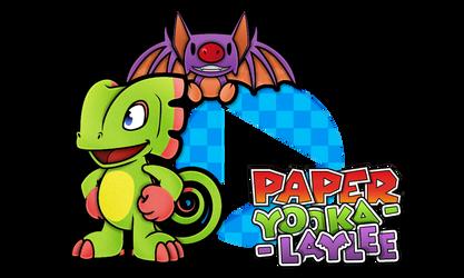 Paper Yooka-Laylee by Noctalaty