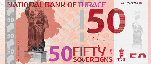 50 SOUVEREIGNS BILL by empireofthrace