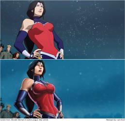 Screen Repaint: Wonder Woman by I-am-knot