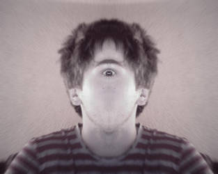 Self simetric surrealism by technics