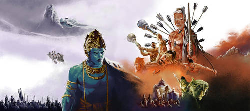 battle of kuruksethra by prey47