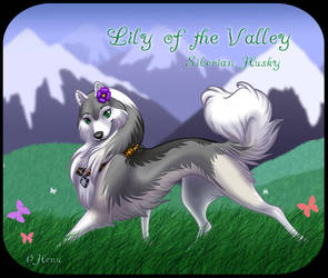 Lily of the Valley commish by henu