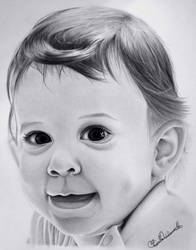 My baby sister, Angelina by PriscillaW
