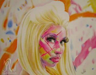 Nicki Minaj Roman Reloaded by PriscillaW