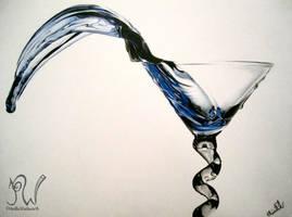 Blue Martini by PriscillaW