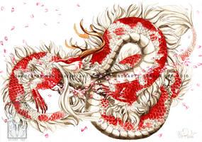 Koi Dragon by ShadeofShinon