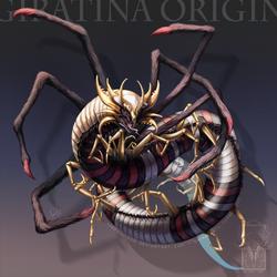 Type Collab: Giratina Origin by ShadeofShinon