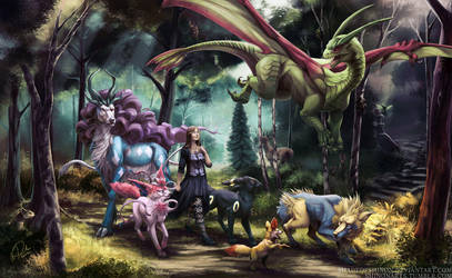 Commission: Quest for a Myth by ShadeofShinon