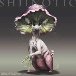 Pokemon Reimagined: Shiinotic by ShadeofShinon