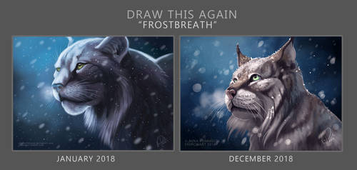 Draw This Again: Frostbreath by ShadeofShinon
