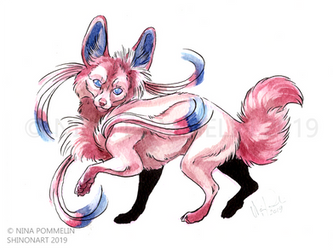 Pokeddex Your Choice DAY 5 - Sylveon by ShadeofShinon