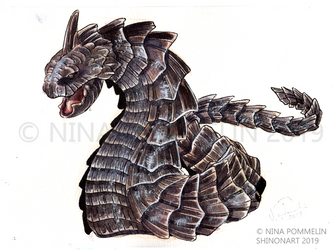 Pokeddex Your Choice DAY 15 - Onix by ShadeofShinon