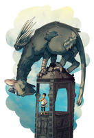 Trico and the Boy by SuperSwitz