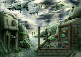 The gathering stormclouds by Seastalker