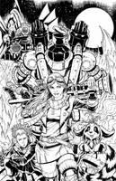 Delilah Blast Variant Cover by geniuspen