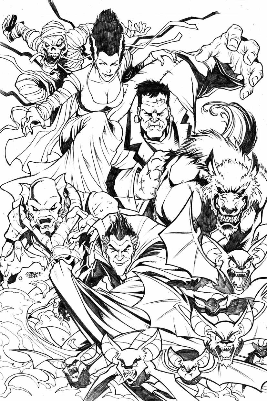 Monster Squad by geniuspen