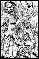 BEASTMODE comic poster by geniuspen