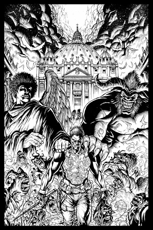 Vamp Cover commission art by geniuspen