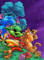A cartoon cover... by geniuspen