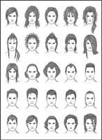 Men's Hair - Set 12 by dark-sheikah