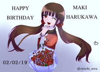 Happy birthday to Harukawa Maki! by lauraml1