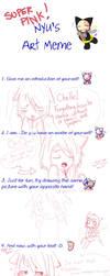 Nyu's Art Meme by kuroineko