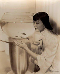 Anna May Wong - Chinese-American Beauty by Lespion1944