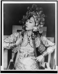 Anna May Wong as Turandot by Lespion1944
