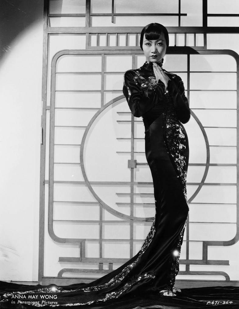 Anna May Wong Fashion Icon by Lespion1944