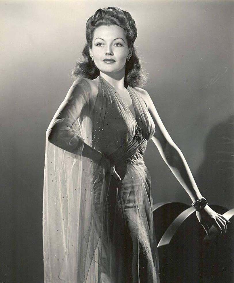 Lynn Bari - Statuesque Beauty by Lespion1944