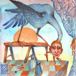 Beware the Harpy Man by sarajacksonjihad