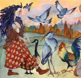 To Live with the Birds by sarajacksonjihad