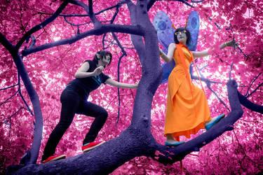 Infinite Branch [Aranea and Terezi] by Mitsuki-Aizawa