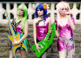 Jem and Misfits by lulysalle