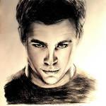 Chris Pine ( #inktober ) by Tesilia