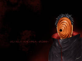 Uchiha Madara- Tobi Wallpaper by Skipina