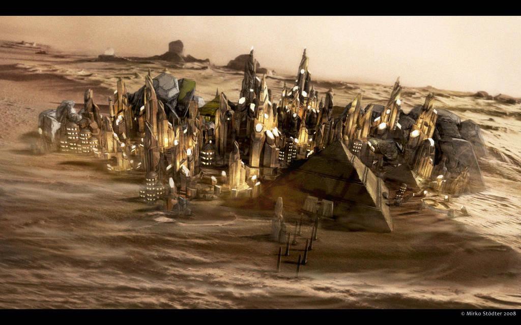 Tok'ra Homeworld by AntikerSG-P