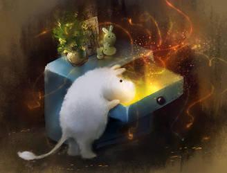Moomin Box by Zetsuboushi