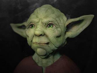 Yoda by Zetsuboushi