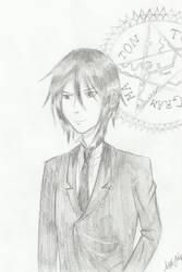 Sebastian (Black Butler) by kittyneko903