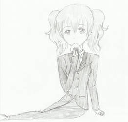 Onegiri Karuta (Inu x Boku SS) by kittyneko903